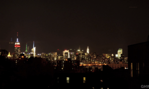 NYC Skyline Time Lapse_night