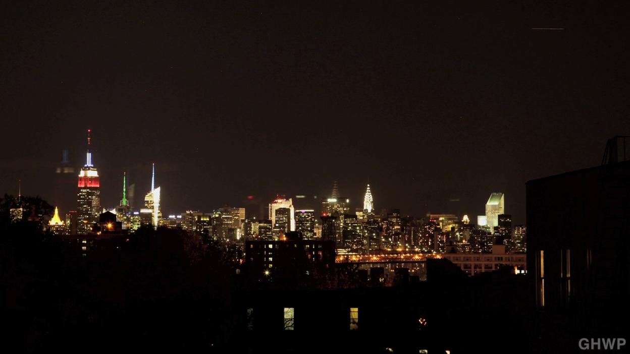 NYC Skyline Time Lapse_night