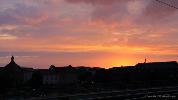 Sunrise Time Lapse – In A Berlin Minute (Week 116)