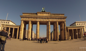 Brandenburg Gate Time Lapse