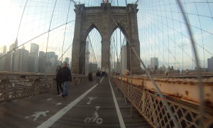 Riding across the Brooklyn Bridge – In A Brooklyn Minute (Week 84)