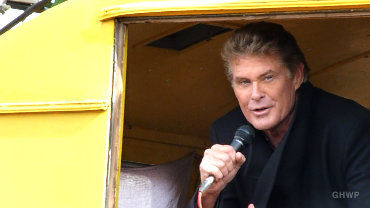 David Hasselhoff East Side Gallery