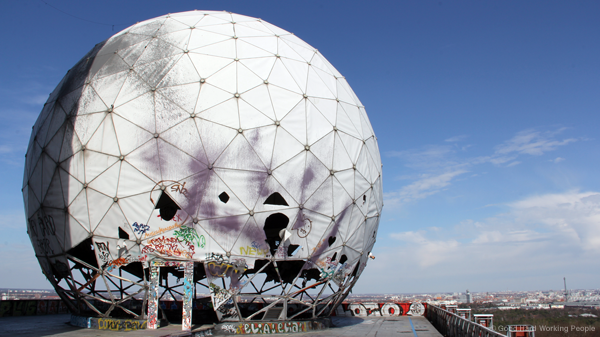 Teufelsberg Spy Station – In A Berlin Minute (Week 155)