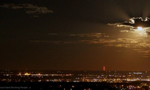 Harvest Moonrise Time-Lapse – In A Colorado Minute (Week 178)