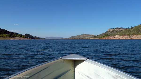 Boat Ride on Horsetooth Reservoir – In A Colorado Minute (Week 179)