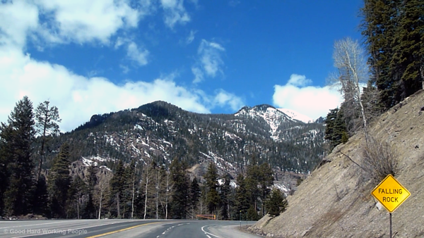 Rocky Mountains Drive: Wolf Creek Pass (Time Lapse) – In A Colorado Minute (Week 202)