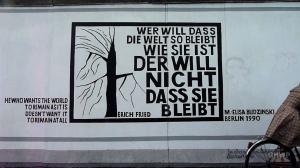 East Side Gallery (The Wall Art) - In A Berlin Minute (Week 95)