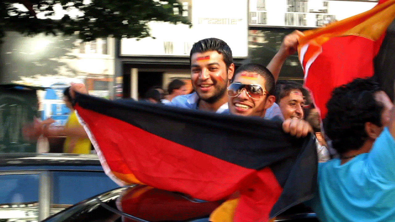 German Football Fans