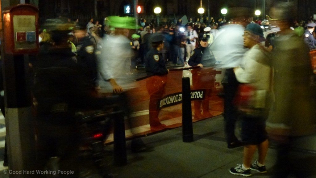 OWS_Oct 5_Occupy Wall Street_stand-off_a_s