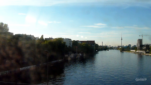 View from U1 U-Bahn (Subway) - Berlin - Kottbusser Tor to Warschauer Strasse (extended version)