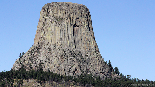 Devils Tower aka Bear Lodge in Wyoming