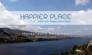 Horsetooth Reservoir - Happier Place - Moving Postcard
